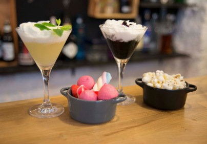 Cocktails, Popcorn, Sweeties & Marshmallows