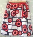 falda vintage, años 70